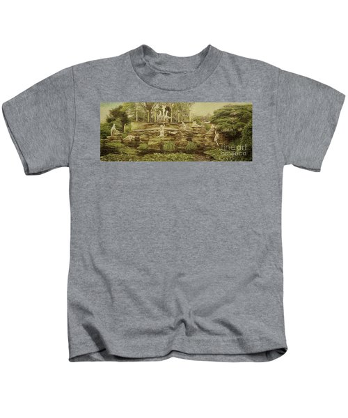 York House Gardens Statues - Twickenham Kids T-Shirt