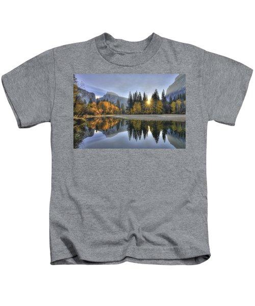 Yosemite Reflections Kids T-Shirt