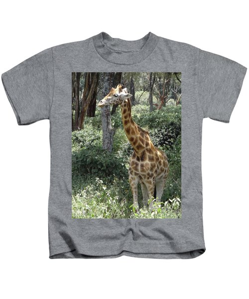 Young Giraffe Kids T-Shirt