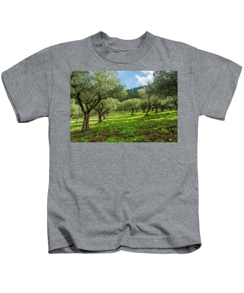 Young Olive Grove Kids T-Shirt