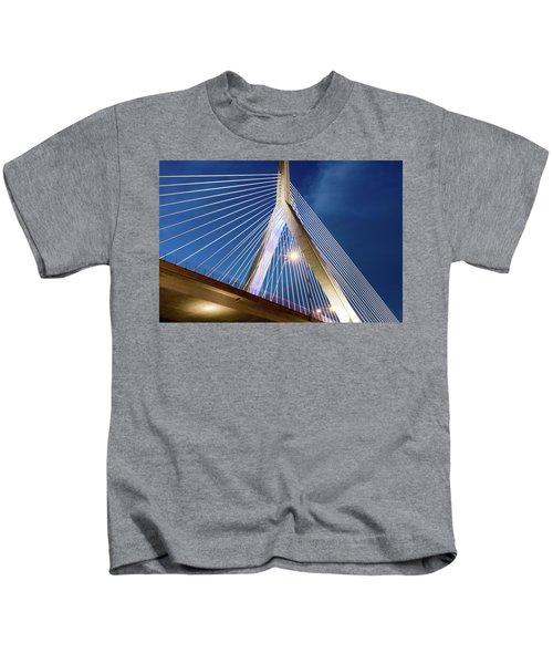 Zakim Bridge Upclose Kids T-Shirt