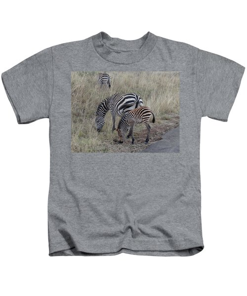 Zebras In Kenya 1 Kids T-Shirt