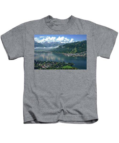 Zell Am See Panorama Kids T-Shirt