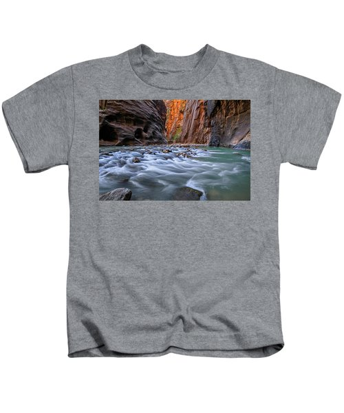 Zion Narrows Kids T-Shirt