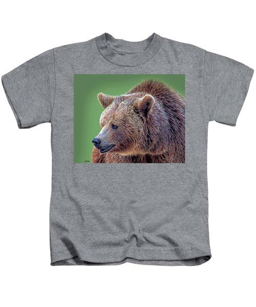 Brown Bear 5 Kids T-Shirt