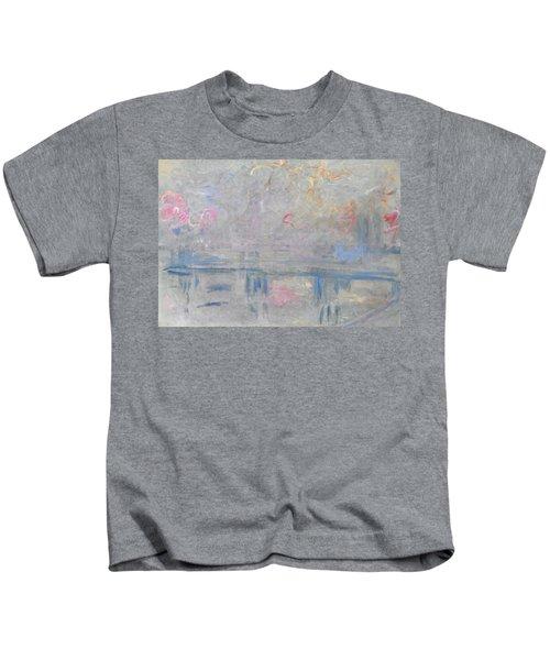 Charing Cross Bridge - Digital Remastered Edition Kids T-Shirt