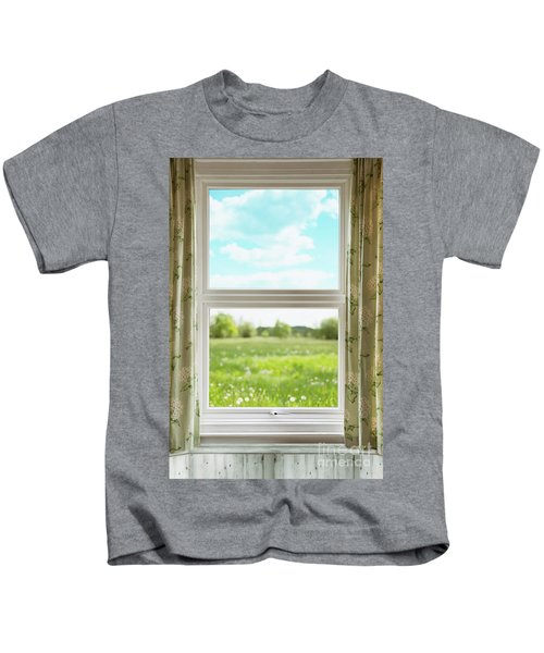 Country Window Kids T-Shirt