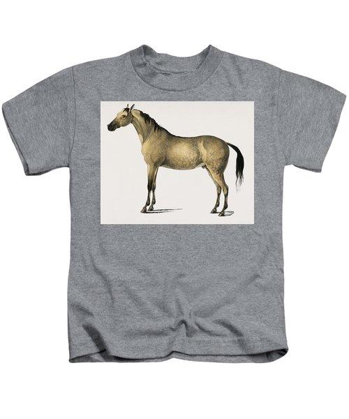 Horse  Equus Ferus Caballus Illustrated By Charles Dessalines D  Orbigny  1806 1876  2 Kids T-Shirt