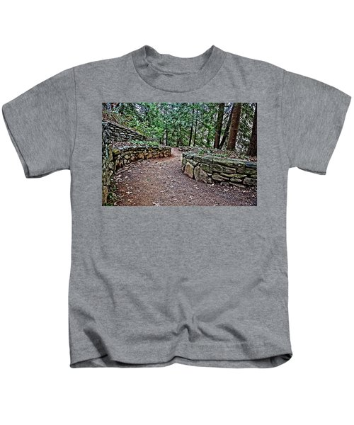 Just Around The Bend Kids T-Shirt