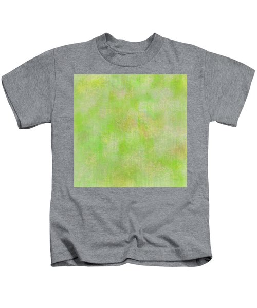 Lime Batik Print Kids T-Shirt