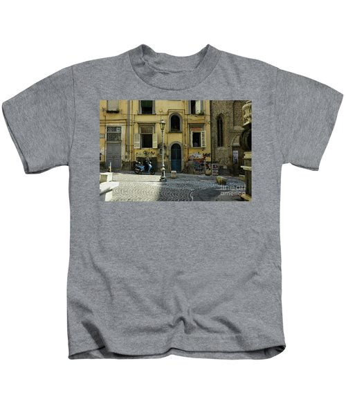 Naples Italy Kids T-Shirt