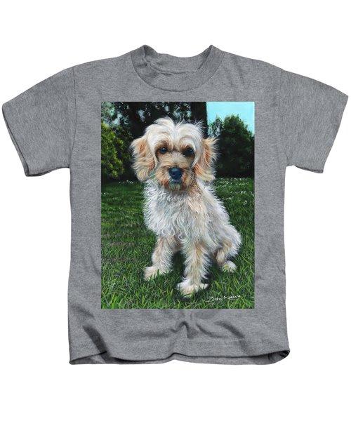 Portrait Of Toffee Kids T-Shirt