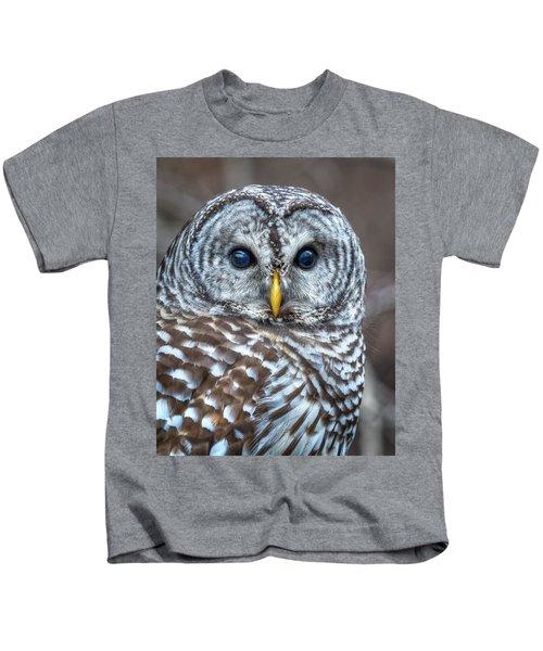 Barred Owl Kids T-Shirt