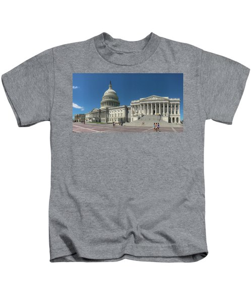 United States Capitol  Kids T-Shirt
