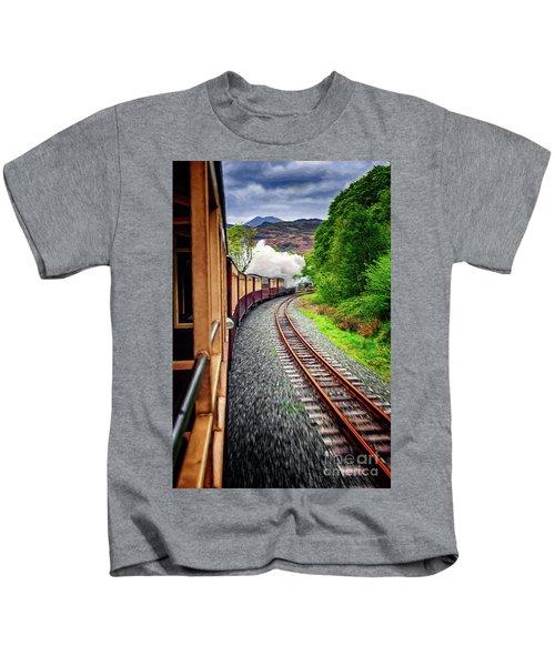 Welsh Highland Railway Kids T-Shirt
