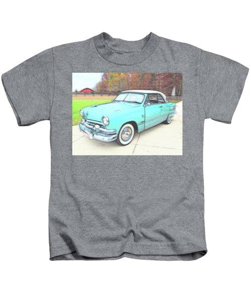 1951 Ford Kids T-Shirt