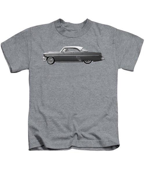 1954 Ford Mercury Monterey Black And White Kids T-Shirt