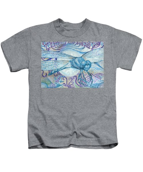 Dragonfly Moon Kids T-Shirt