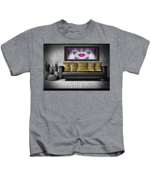 Lady Fashion Beauty Kids T-Shirt