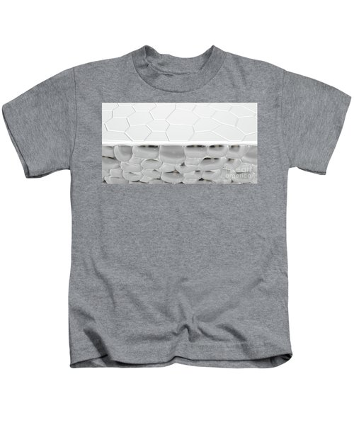 Skin Dermis Cross Section Kids T-Shirt