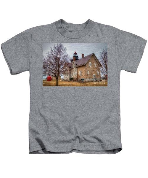 30 Mile Lighthouse  Kids T-Shirt