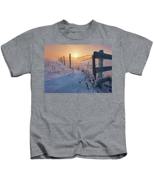 -30 Sunrise Kids T-Shirt