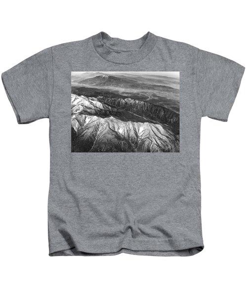 35,000 Feet Over Utah Kids T-Shirt