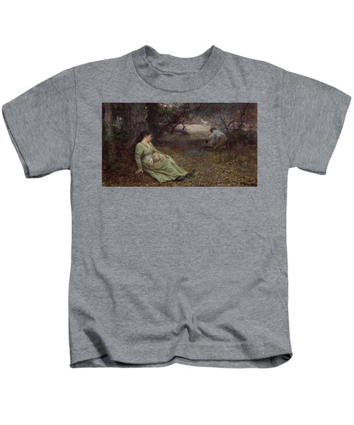 On The Wallaby Track Kids T-Shirt