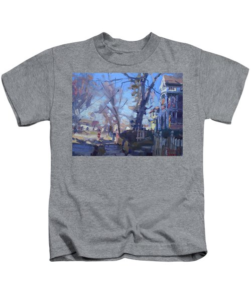 A Cold Sunny Afternoon Kids T-Shirt