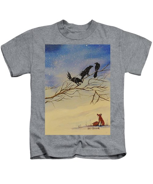 A Fox And His Cronies Kids T-Shirt