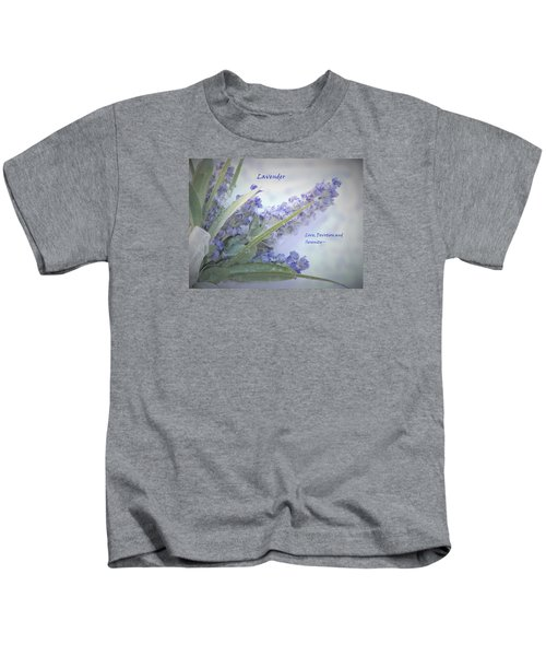 A Gift Of Lavender Kids T-Shirt