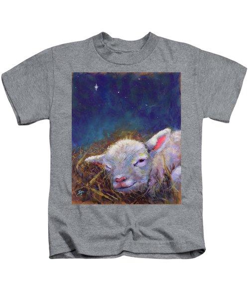 A King Is Born Kids T-Shirt