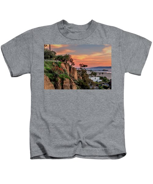 A Nice Evening In The Park Kids T-Shirt