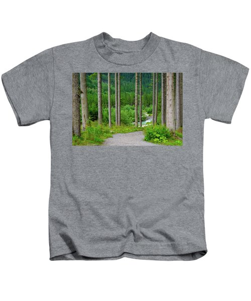 A Path To The River Kids T-Shirt