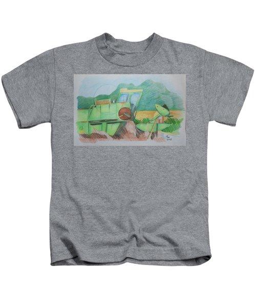 Abandoned Combine Kids T-Shirt