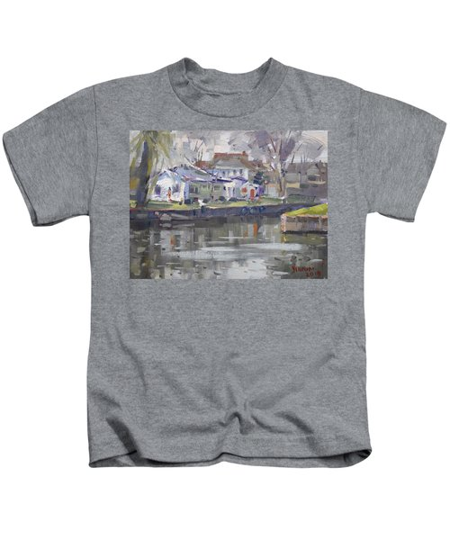 Afternoon At La Salle Park Kids T-Shirt
