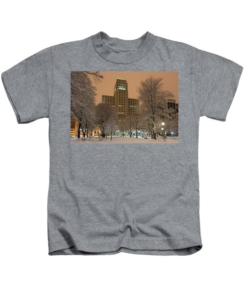 Alfred E. Smith Building Kids T-Shirt