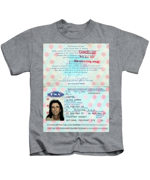 Alice Cooper Passport 1997 Kids T-Shirt