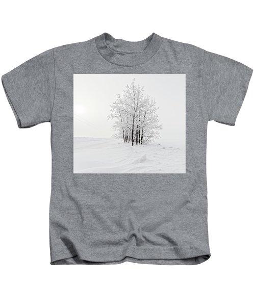 Alone On The Prairie Kids T-Shirt