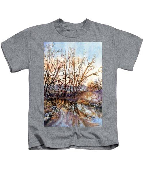Along Boulder Creek Kids T-Shirt