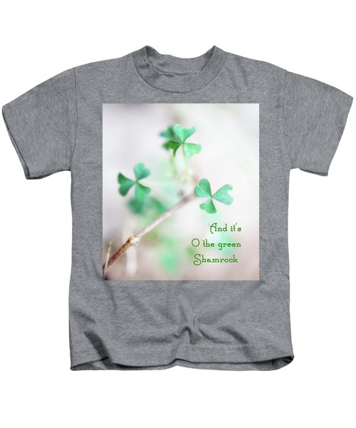 And It's O The Green Shamrock Kids T-Shirt