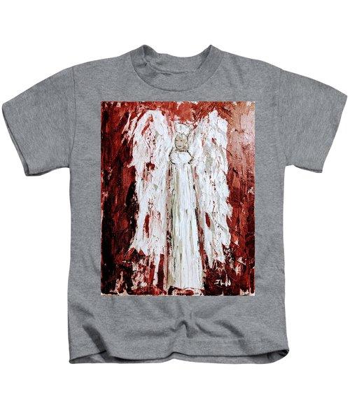 Angel Against Violence Kids T-Shirt