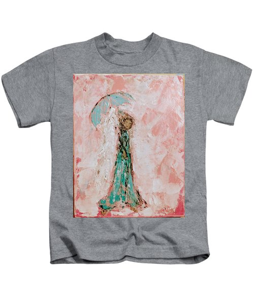 Angel By Your Side Kids T-Shirt
