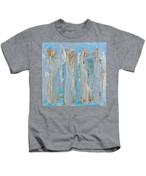 Angels Coming Together Kids T-Shirt
