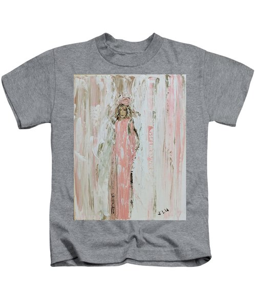Angels In Pink Kids T-Shirt