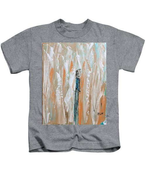 Angels In The Midst Of Every Day Life Kids T-Shirt