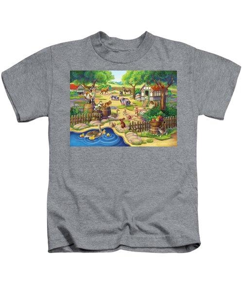 Animals At The Petting Zoo Kids T-Shirt