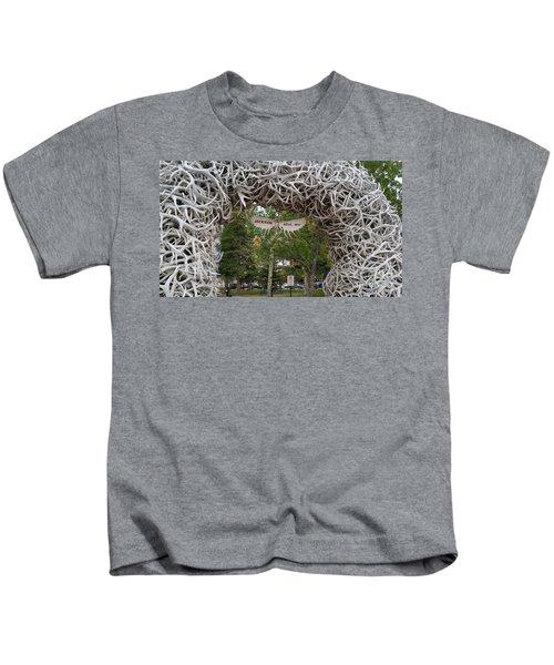 Antler Arch  Kids T-Shirt