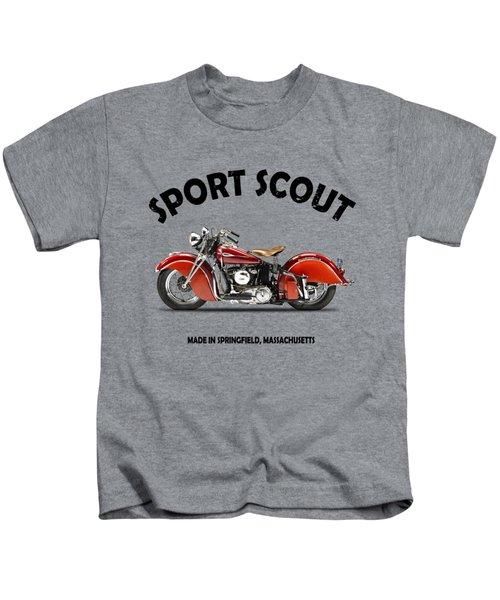 Indian Sport Scout 1940 Kids T-Shirt