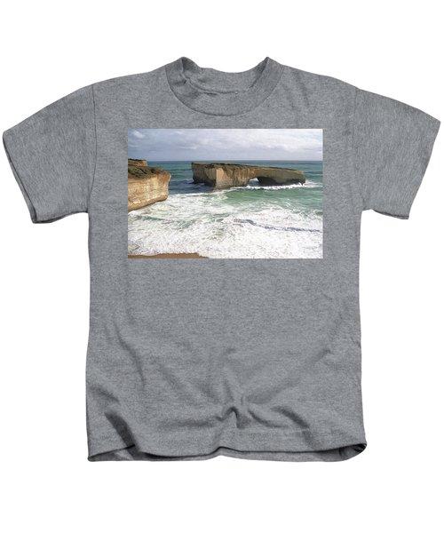 Australia's London Bridge - Now London Arch Kids T-Shirt